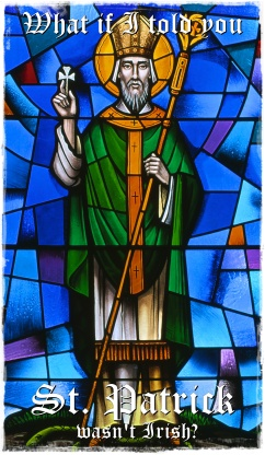 Saint Patrick (stained glass)